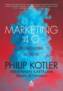 Livro marketing 4.0, do autor Philip Kotler